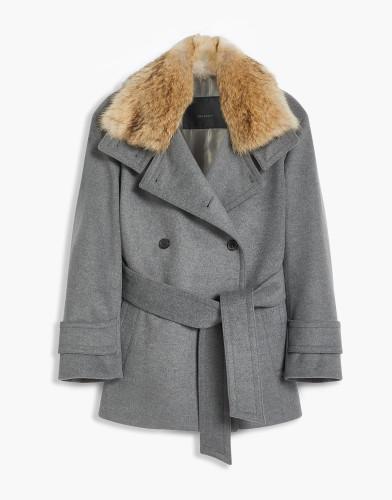 Belstaff - Bridstone Coat w fur - £995 €1095 $1295 - Mid Grey Melange - 72010292C67N015190003-jpg
