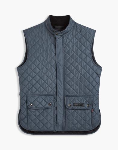 Belstaff - Quited Waistcoat - £195 €225 $295 - Blue Pewter - 71080002C50R019280123-jpg