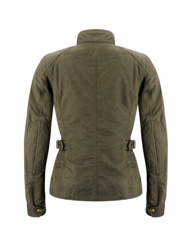 Belstaff PM Woman - Phillis Jacket - £495 €550 $650 - Military Green - Black Brown - 42030003 C50N0471 20008-jpg