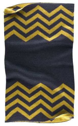 Belstaff PM - Graham Knitted Neck Warmer - £55 €59 $70 - Dark Ink Mineral Yellow - 41630006 K77N0021 08302-jpg