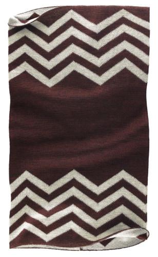 Belstaff PM - Graham Knitted Neck Warmer - £55 €59 $70 - Bordeaux Vintage Grey Melange - 41630006 K77N0021 05912-jpg