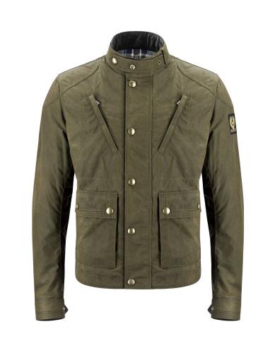 Belstaff PM - Minter Blouson - £495 €550 $650 - Military Green -  41020052 C50N0471 20008 - Front-jpg