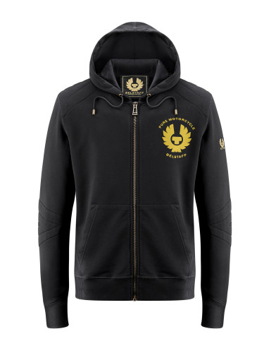 Belstaff PM - Guthrie Zip Sweater - £115 €125 $150 - Black - 41130010 J611N0110 90068 - Front-jpg