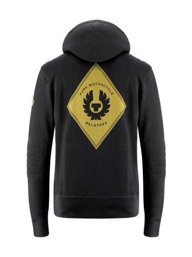 Belstaff PM - Guthrie Zip Sweater - £115 €125 $150 - Black - 41130010 J611N0110 90068-jpg