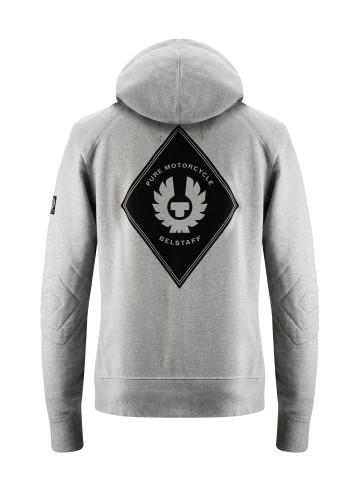 Belstaff PM - Guthrie Zip Sweater - £115 €125 $150 - Light Grey Melange - 41130010 J611N0110 90002-jpg