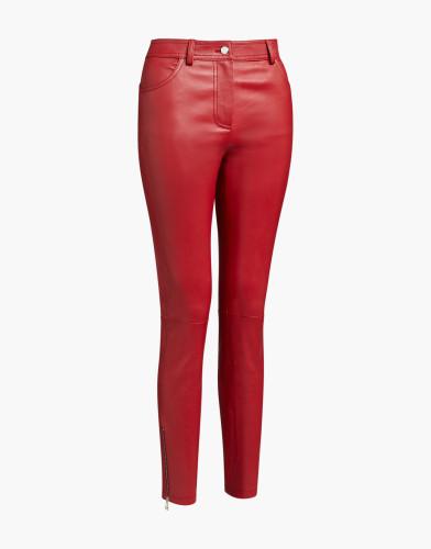 Belstaff - Etty Trousers - £895 €995 $1195 - Cardinal Red - 72100302L81N064001-jpg