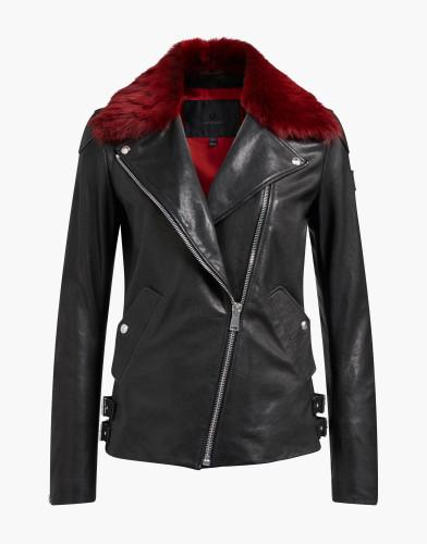 Belstaff - Gaskell with Shearling - £1150 €1295 $1595 - Black Cardinal Red - 72020359L81N022509518-jpg