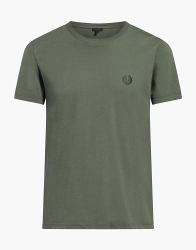 Belstaff - Monksford T-Shirt - £60 €65 $80 - Green Smoke - 71140211J61A006780129-jpg
