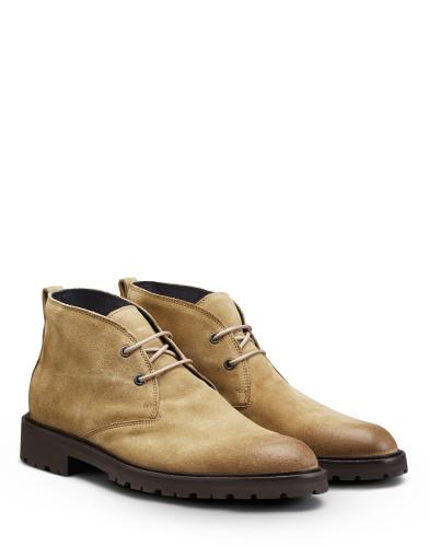 Belstaff-  Woodfield Boots – £450 €495 $595 ¥75000 – Desert Dust Khaki – 77800254L81D035101178ANGLEPAIR-jpg