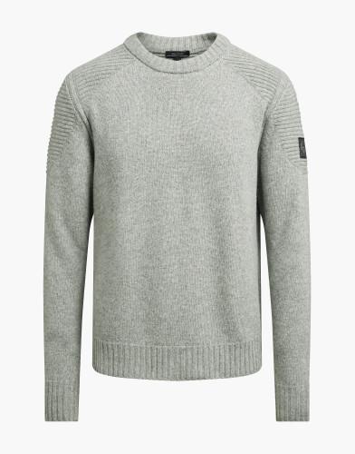 Belstaff – Southview Knit – £325 €350 $450 ¥59000 – Mid Grey Melange – 71130462K77D004290003-jpg