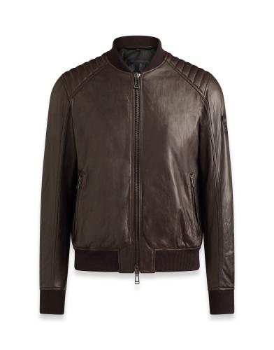 Belstaff – Pershall Blouson – £995 €1095 $1295 – Dark Brown -71020596L81N055360018-jpg