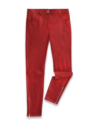 Belstaff – Etty Trousers – £895 €995 $1195 ¥156000 – Cardinal Red – 72100302L81N064050001-jpg