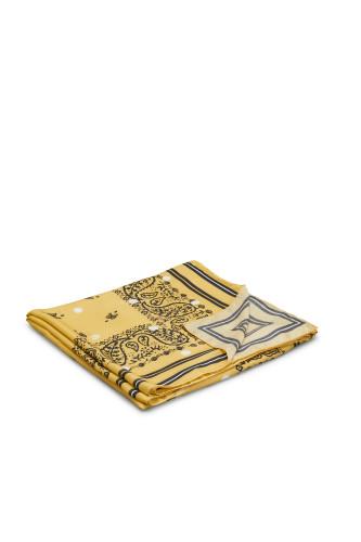 Belstaff – Pascal Scarf – £160 €175 $210 ¥26000 – Yellow White – 75730048C50F0465031142-jpg