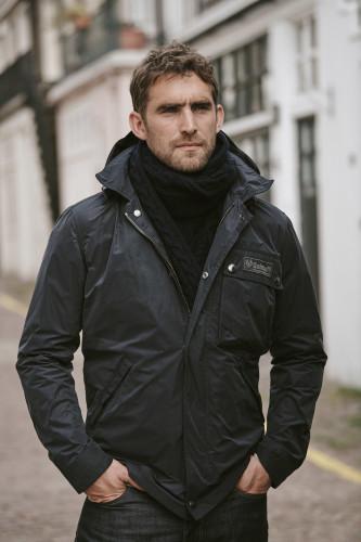 Belstaff Introduces the Weekender Jacket  Irish Cable Scarf-jpg