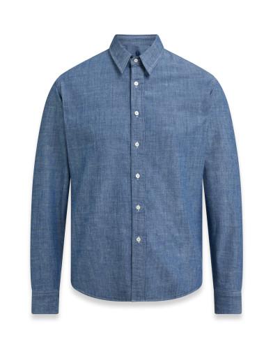 Belstaff – Land Shirt – £150 €175 $195 ¥26000 – Bright Indigo – 71120207C61A043580033-jpg