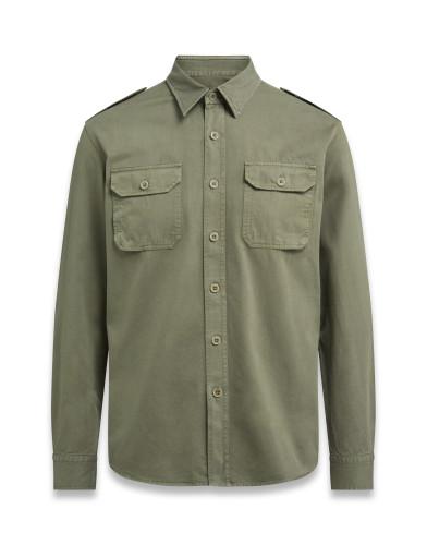 Belstaff – Officer Shirt – £150 €175 $195 ¥26000 – Olive – 71120208C61A042020007-jpg