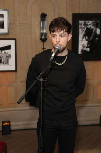 Tom Grennan Performing