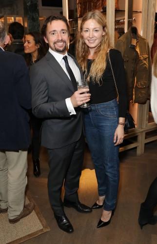Richard Hammond and Juliet Rylance